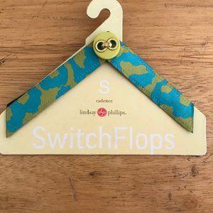 Lindsay Phillips Maureen Switchflops straps NWT